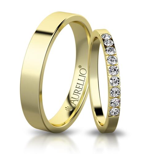 Snubní prsteny - Říční ZEMĚ 1. fotka