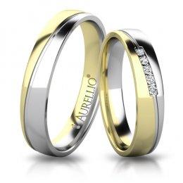 Snubní prsteny - Temperamentní JUPITER