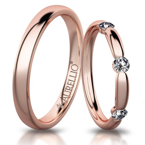 Snubní prsteny - Čarovné SLUNCE 1. fotka
