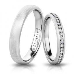 Snubní prsteny - Ojíněný MERKUR