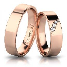Snubní prsteny - Rozdmýchaný URAN