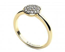 Zásnubní prsten - Kometa Faye