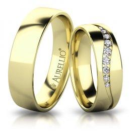 Snubní prsteny - Ladná VENUŠE