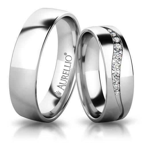Snubní prsteny - Ladná VENUŠE 1. fotka