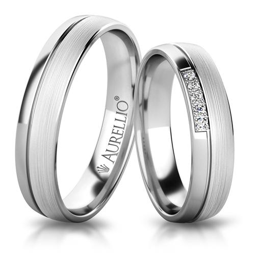 Snubní prsteny - Okouzlující MARS 1. fotka