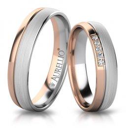 Snubní prsteny - Okouzlující MARS