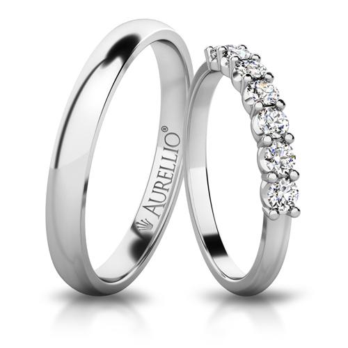 Snubní prsteny - Vládnoucí SATURN 1. fotka