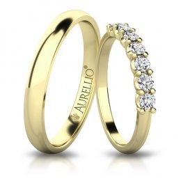 Snubní prsteny - Vládnoucí SATURN