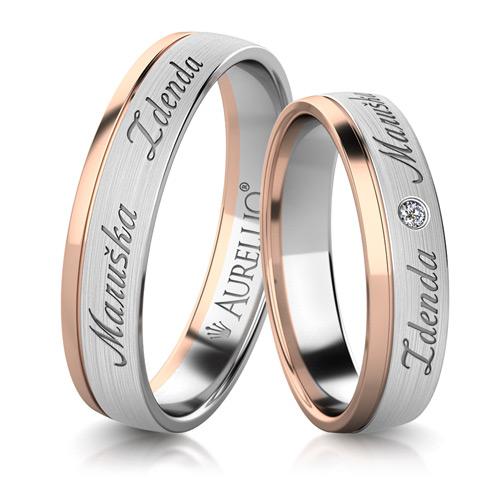 Snubní prsteny - Světová ZEMĚ 1. fotka