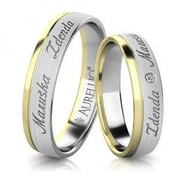 Snubní prsteny - Světová ZEMĚ