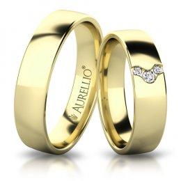 Snubní prsteny - Vzdušné SLUNCE