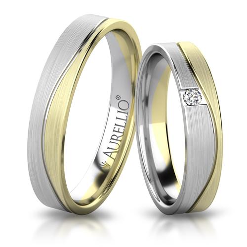 Snubní prsteny - Ozářený JUPITER 1. fotka