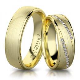 Snubní prsteny - Točitý MERKUR