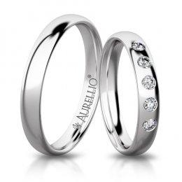 Snubní prsteny - Kosmický MERKUR