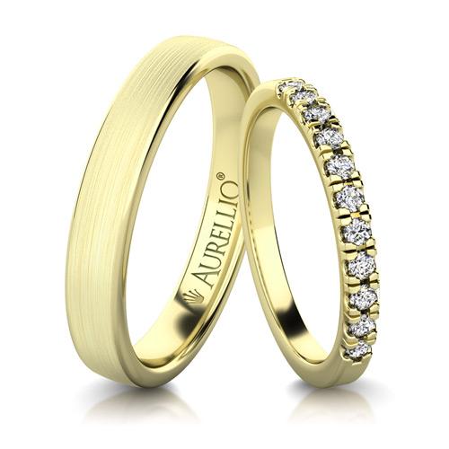 Snubní prsteny - Hedvábné SLUNCE 1. fotka