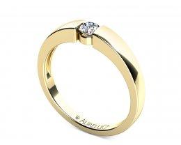 Zásnubní prsten - Souhvězdí Kompas