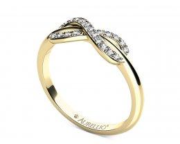 Zásnubní prsten - Souhvězdí Andromeda