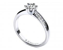 Zásnubní prsten - Kometa Clark