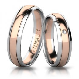 Snubní prsteny - Oslnivý SATURN