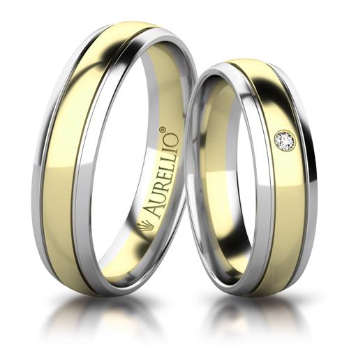 Snubní prsteny - Oslnivý SATURN 1. fotka