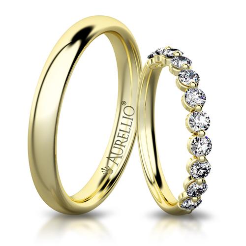 Snubní prsteny - Pohádková VENUŠE  1. fotka