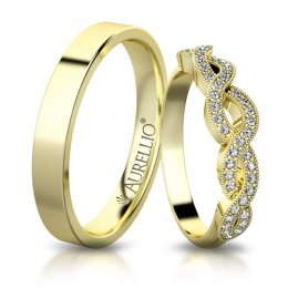 Snubní prsteny - Svůdná VENUŠE
