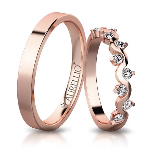 Snubní prsteny - Vznešená VENUŠE 1. fotka