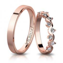 Snubní prsteny - Vznešená VENUŠE