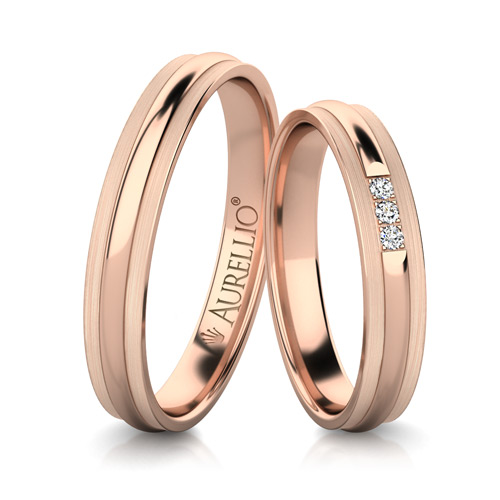 Snubní prsteny - Neokázalý SATURN 1. fotka