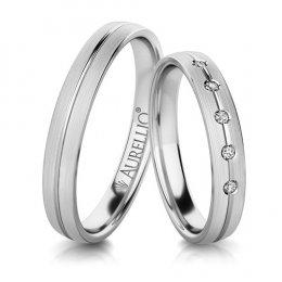 Snubní prsteny - Bezelstný URAN