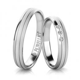 Snubní prsteny - Prostý SATURN