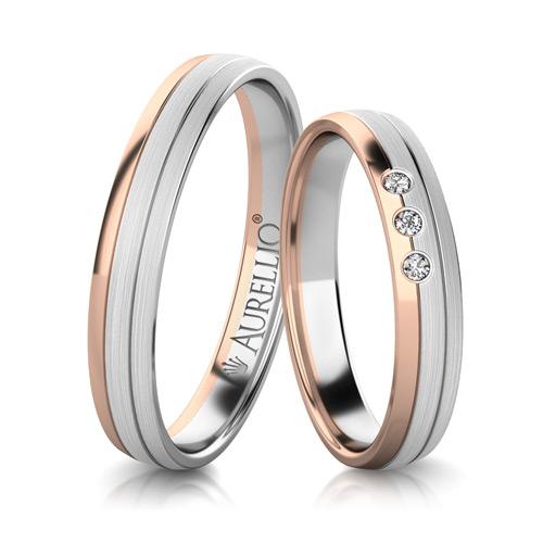 Snubní prsteny - Prostý SATURN  1. fotka
