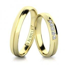 Snubní prsteny - Skromné PLUTO