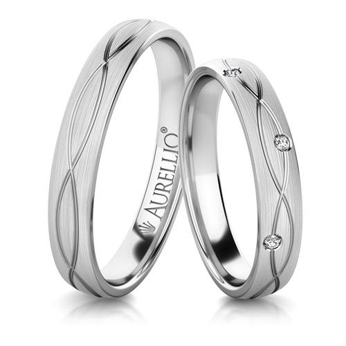 Snubní prsteny - Bezchybné PLUTO 1. fotka