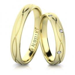Snubní prsteny - Bezchybné PLUTO