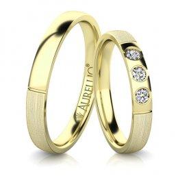 Snubní prsteny - Éterický MERKUR