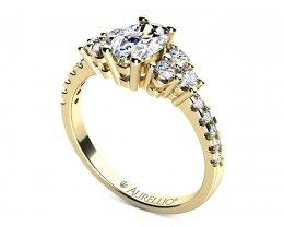 Zásnubní prsten - Kometa Holmes
