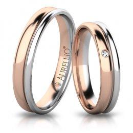 Snubní prsteny - Něžné PLUTO
