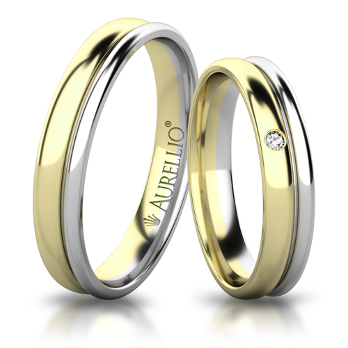 Snubní prsteny - Něžné PLUTO 1. fotka