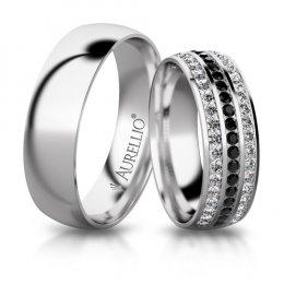 Snubní prsteny - Půlnoční ZEMĚ