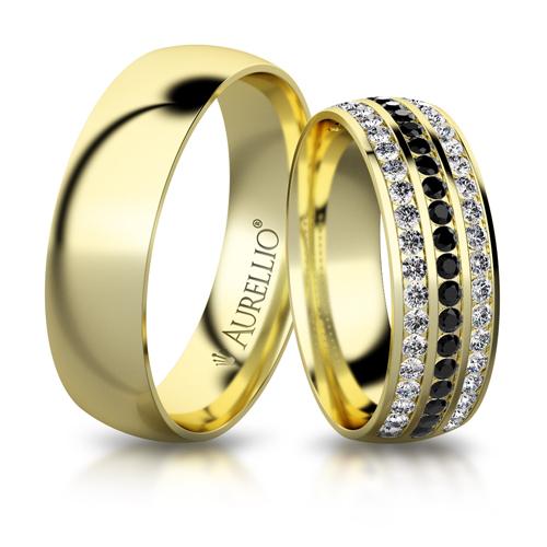 Snubní prsteny - Půlnoční ZEMĚ 1. fotka