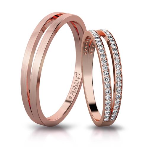 Snubní prsteny - Otevřená ZEMĚ 1. fotka