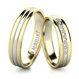 Snubní prsteny - Ohnivý URAN