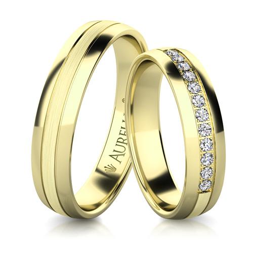 Snubní prsteny - Sněžný URAN  1. fotka