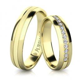 Snubní prsteny - Sněžný URAN