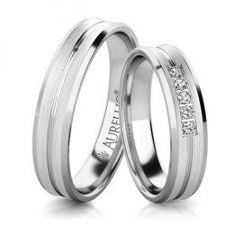 Snubní prsteny - Masivní URAN