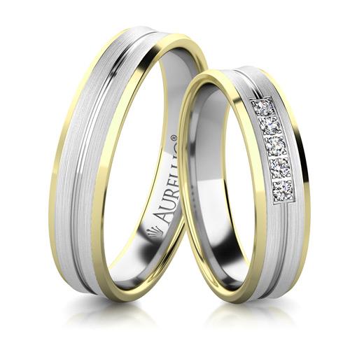 Snubní prsteny - Masivní URAN 1. fotka
