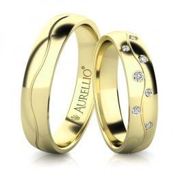 Snubní prsteny - Vzkvétající MERKUR