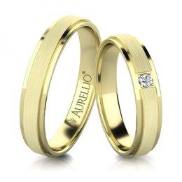 Snubní prsteny - Aristokratický SATURN