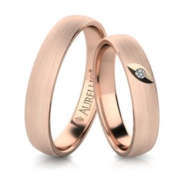 Snubní prsteny - Sametová ZEMĚ